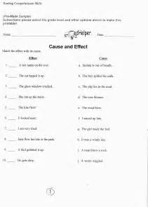 Cause and effect lesson plans and worksheets from thousands of teacher