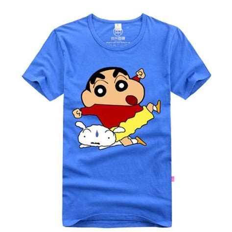 Sinchan T Shirt animation japanese crayon shin chan cotton