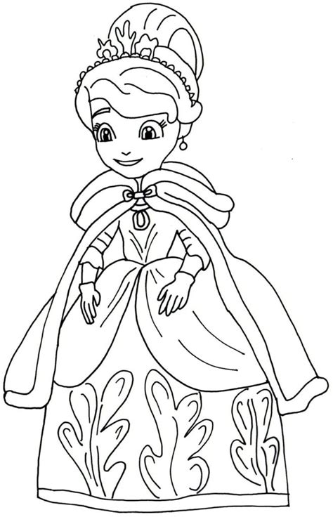 Sofia Coloring Pages Games | coloring pages sofia the first coloring pages sofia the