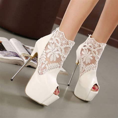 white stiletto high heels white heels qu heel
