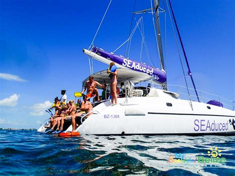catamaran sailing belize sailing adventures they are what you make it my