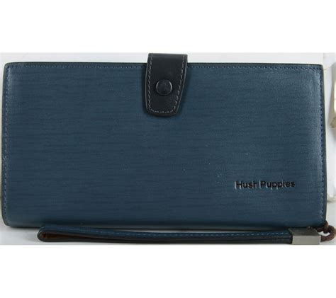 Tas Laptop Hush Puppies hush puppies blue wallet