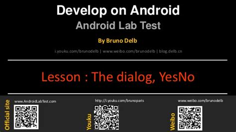 Android Yes No Dialog by Android Lab Test Creating A Dialog Yes No