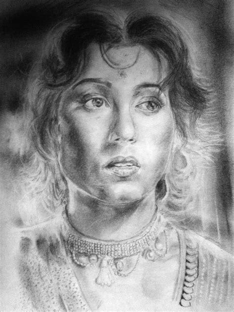 popular sketch artists madhubala 1950 s top sketching shreyas