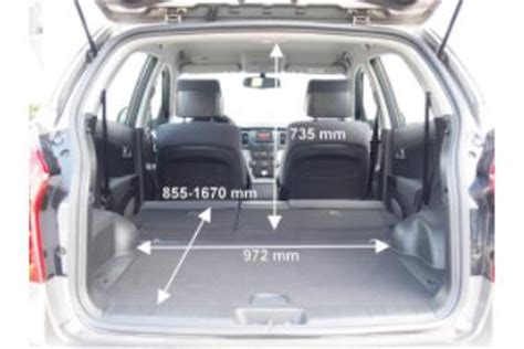 Honda Cr V Kofferraum Abmessungen by Adac Auto Test Ssangyong Korando 2 0 E Xdi 200 Quartz 2wd