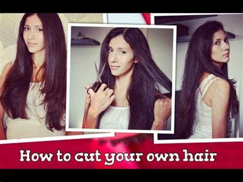 how to cut your own hair in v shape layers как подстричь себя дома стрижка лесенка how to cut your