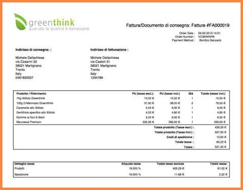 8 factura invoice model invoice template