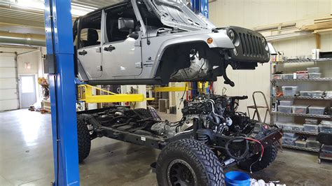 Jeep Jk V8 Conversion Jk Hemi Conversion Kit Nuthouse Industries