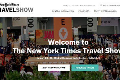 new york times travel new york times travel show new yorkled magazine