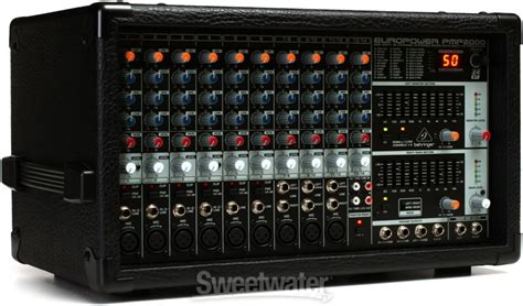 Power Mixer 14 Channel Behringer Europower Pmp 2000 D Original behringer europower pmp2000 sweetwater
