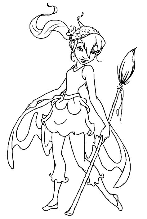 pixie hollow coloring pages coloring home