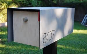 Midcentury Modern House Numbers - modern mailbox