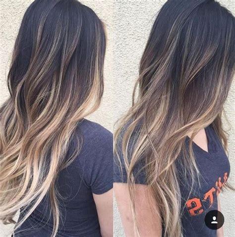 imagenes de cabello negro en morenas mechas platinadas en cabello moreno moda top online
