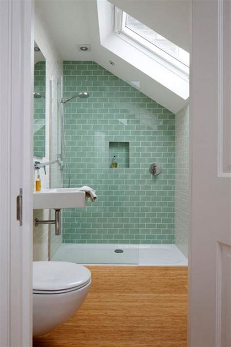 small tile shower 40 green bathroom tile ideas and pictures
