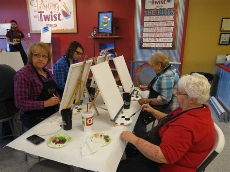 paint with a twist o fallon mo lincoln county area retired school personnel capers