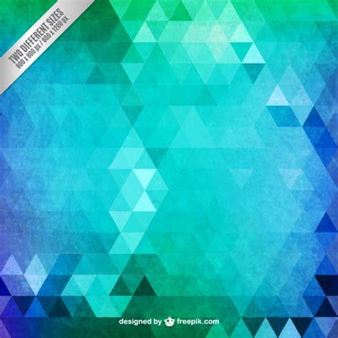 imagenes de triangulos verdes fondo de tri 225 ngulos abstractos en tonos verdes descargar