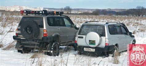 Suzuki Xl7 Road близнецы два варианта подготовки Suzuki Grand Vitara Xl