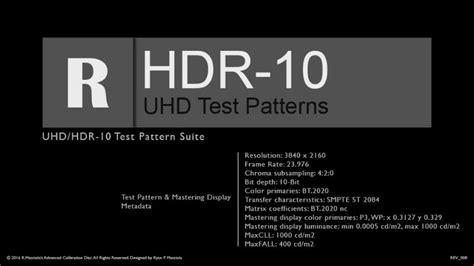 test pattern dvd r masciola uhd hdr10 test patterns kalibrate limited