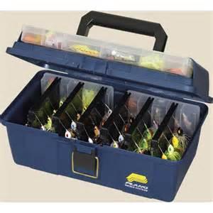4 Folding Table Plano 174 Spinner Bait Box Blue 121650 Fishing