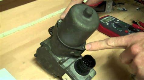 test  transfer box motor   range rover