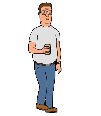 gif animation animated gif king of the hill hank hill