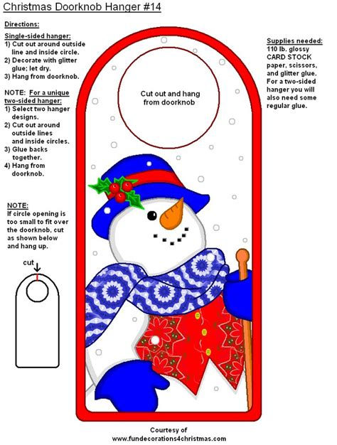 printable christmas door hangers pin by courtney royer on secret santa unit pinterest