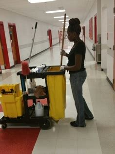 school janitor finds it takes two to make a living jodie dowell