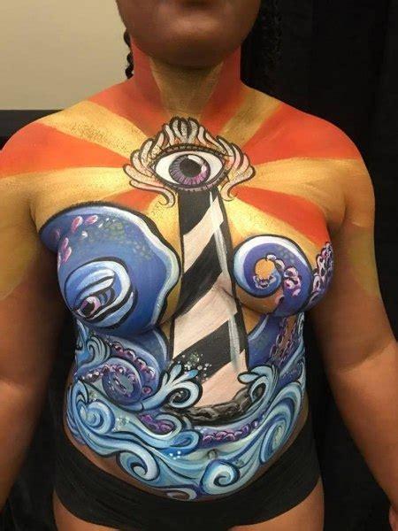 fantasy fest body painter  orlando face painting