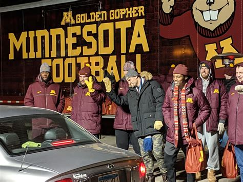 row the boat turkey drive gophers football startribune