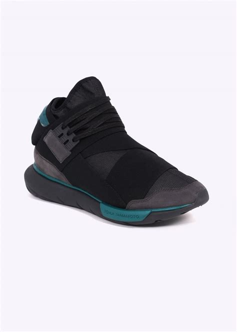 Harga Adidas Y3 Qasa High Original y3 adidas yohji yamamoto qasa high charcoal black