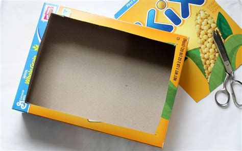 cereal box sandbox 183 kix cereal