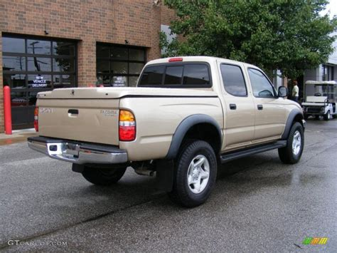 2001 Toyota Tacoma Prerunner 2001 Mystic Gold Metallic Toyota Tacoma Prerunner