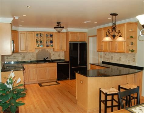 kitchen wood kitchen cabinets with backsplash simple