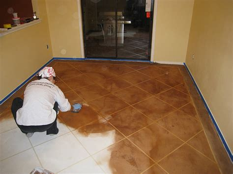 Concrete Floor Finishes Do It Yourself by A Tale About Staining Our Concrete Floors Part 2 Of