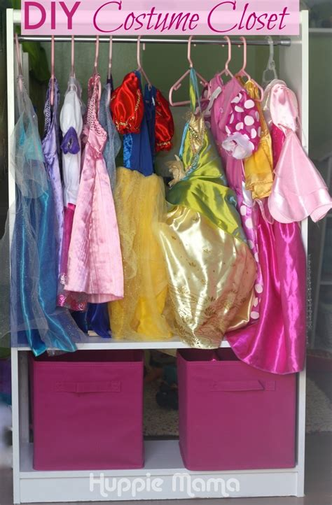 diy costume closet carrie