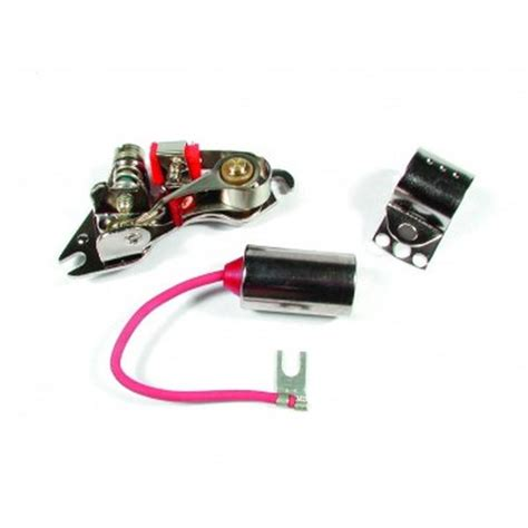 ignition points condenser accel 8104 points ignition point and condenser kit northern auto parts