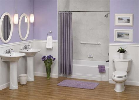 lavender bathroom walls bathroom wainscoting the finishing touch to your