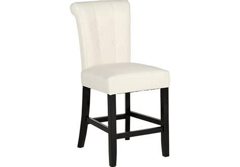 white counter height bar stools georgiana white counter height stool barstools white
