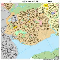 mount vernon virginia map 5154144