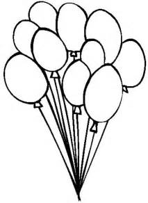 Image Of Balloon Coloring Pages New With Photos 51 sketch template
