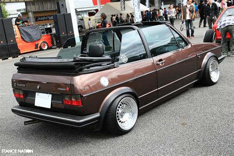 volkswagen rabbit convertible hellaflush japan 2011 photo coverage part 1