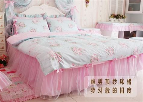 shabby chic twin bedding king queen full twin princess shabby floral chic blue