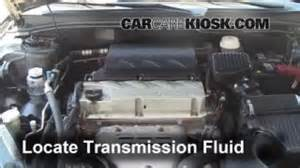 2004 Mitsubishi Endeavor Transmission Fluid Transmission Fluid Level Check Mitsubishi Galant 2004