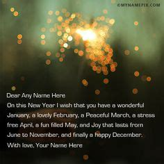 how do you spell happy new year in write your name on happy new year wishes 2016 picture in