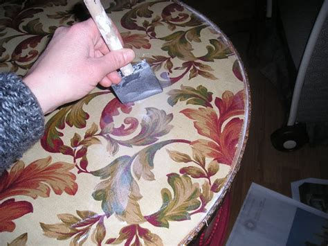 Decoupage With Fabric - decoupage table top with fabric rizzo
