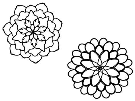 i fiori semplici i mandala fiori semplici crearegiocandoblog