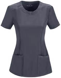 Infinity Uniforms Infinity S Notched Neck Scrub Top 2624a
