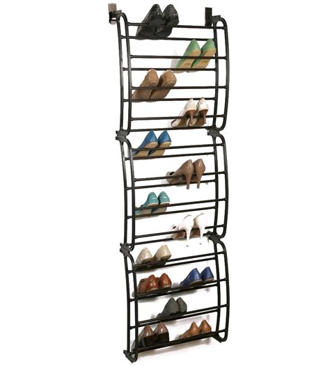 Door Shoe Organizer | over the door shoe rack bronze in over the door shoe racks