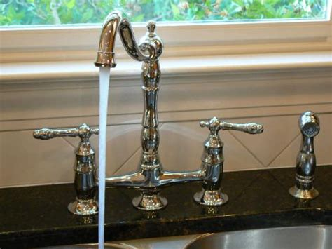 East Bay Plumbing by This Glacier Bay Bridge Faucet Gets A Resounding 5