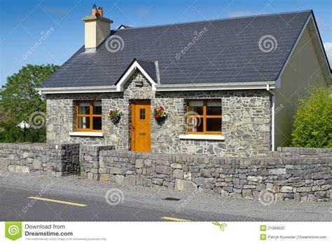 irish cottage house plans irish stone cottage house stock photo image of quaint